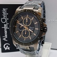 (Diskon) jam tangan pria original alexandre christie AC 6141 MC BLGY