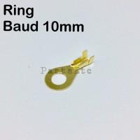 Skun Terminal Ring Baud 10mm Aki