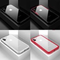 Iphone X Case Touhened Glass Super Light premium