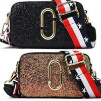 UT1883 - 1884 MJ GLITER tas import bag batam/sling bag kekinian
