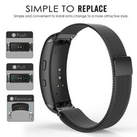 Milanese Stainless Steel Strap Samsung Galaxy Gear Fit 2 / Fit 2 Pro