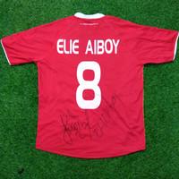 Original Jersey Semen Padang 2010-11 Home Elie Aiboy Baju Bola Asli