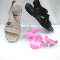 Sepatu Sandal Wanita Bata 661-6500 Black/Cream
