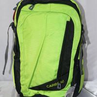TAS RANSEL CARBONI LIGHT GREEN RA57 - SEMI CARRIER - RANSEL COWOK