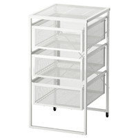 IKEA LENNART Unit Laci Baja Galvanis - Putih