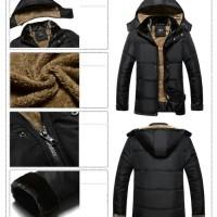 jaket bulu coat down parka musim dingin bosa untuk pria dan wanita