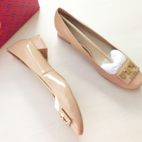 Jual sepatu tory burch original / tory burch gigi pump shoes Murah