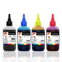 SET TINTA SUBLIM F1 INK FOR PRINTER EPSON L100 L200 L800 CMYK 100ML