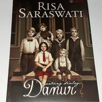 Novel Horor - Gerbang Dialog Danur - Risa Saraswati (BONUS TOTEBAG)