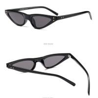 A58 Jovi Small Cat Eye Sunglasses - Black