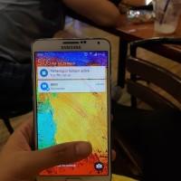 Samsung Galaxy Note 3 second super gress