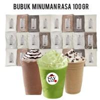 BUBUK MINUMAN RASA 100GR - BUBBLE DRINK - MILKSHAKE - ICE BLEND POWDER