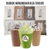 BUBUK MINUMAN RASA 500GR - BUBBLE DRINK - CAPCIN - ICE BLEND POWDER