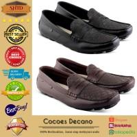 Sepatu Casual Moccasin Cocoes Decano Pria