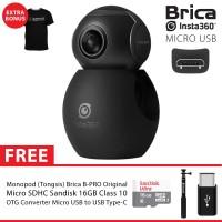 BRICA B-PRO Insta360 / Insta 360 Air USB-C Camera Supreme 16GB - Black