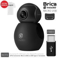BRICA B-PRO Insta360 / Insta 360 Air Camera USB Type-C - White T-shirt