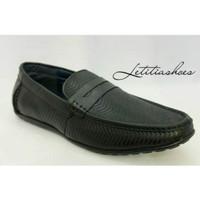 Sepatu Pantofel Slip on Pria Kulit Jim Joker Original NICK 1CG Formal