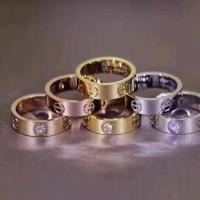 Perhiasan Cincin Stainless Cartier Love Murah Wanita
