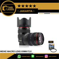 LENSA MEIKE 85MM F2.8 MACRO FULL FRAME FOR CANON