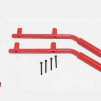 Jeep JK Wrangler WIld Boar Merah Grab Bars Red Rear Pegangan Tangan