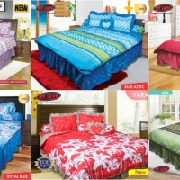 Bed Cover My Love Queen Size (160x200) Tinggi 30 cm