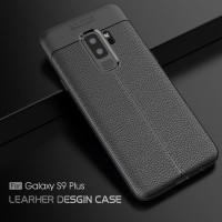 LEATHER AUTO FOCUS Samsung S9 - S9 Plus soft case casing hp back cover