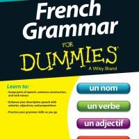 French Grammar for Dummies ( Belajar Tata Bahasa Perancis / eBook )