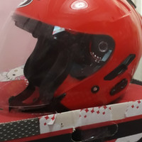 Helm KYT Galaxy Slide Double Visor Bekas