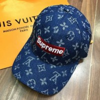 Topi LV Supreme Canvas Semi Premium Quality