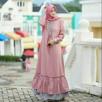 grosir DRESS SYARI HAFIZA | grosir baju murah/kebaya anak/grosir