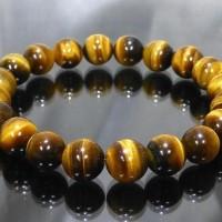 (Termurah!!) Gelang Tasbih Batu Akik Tiger Eye Natural Untuk Terapi