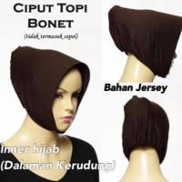 (Promo!!) Inner Hijab / Dalaman Kerudung Model Ciput Topi Jersey