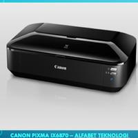 CANON PIXMA iX6870/PRINTER WARNA - A3/GRS 1 TAHUN