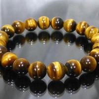 (New Arrival!!) Gelang Tasbih Batu Akik Tiger Eye Natural Untuk Terapi