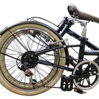 PRODUK NEW SPESIAL London Taxi Folding Bike Sepeda Lipat 20 Inch 6