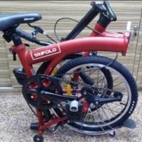 PRODUK SPESIAL Sepeda Lipat 16 United Trifold