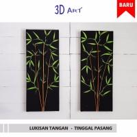 Harga best seller hiasan dinding bambu 3d pring | antitipu.com