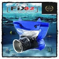 Waterproof Case Kamera DSLR Canon Nikon 20meter Aman Musim Hujan.