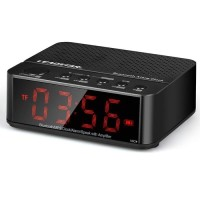 (DA009) Desktop Bluetooth Speaker Alarm LED Clock / Jam Meja Digital