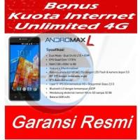 hp smartfren andromax L Bonus KUOTA UNLIMITED 30 hari Ram 2GB Rom 16GB