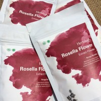 Herbilogy Rosella Flower Extract Powder / Bunga Rosella 100 gr