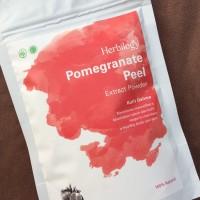 Herbilogy Pomegranate Peel Extrack Powder / Kulit Delima 100gr