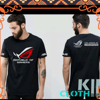 t shirt kaos baju asus laptop rog republic of gamers