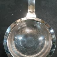 saringan minyak lubang halus 18,5 cm/serok minyak