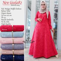 Baju Terusan Wanita Muslim Longdress New Gisela #2 Maxy