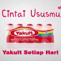 Yakult drink minuman Probiotik | susu yogurt segar fresh Probiotic