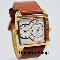 Jam Tangan Pria Original Swiss Army 2052MR Rose Gold