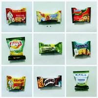 magnet kulkas miniatur makanan