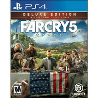 FARCRY 5 DELUXE EDITION BD GAME PS4 FARCRY5 REG 3 FAR CRY 5