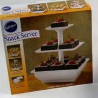 New! Snack Server Etalase Kue 3 Tingkat Stand Saji Rack Rak Cup Cake